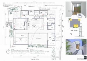 旗竿地に建つ家 ミサオケンチクラボ01